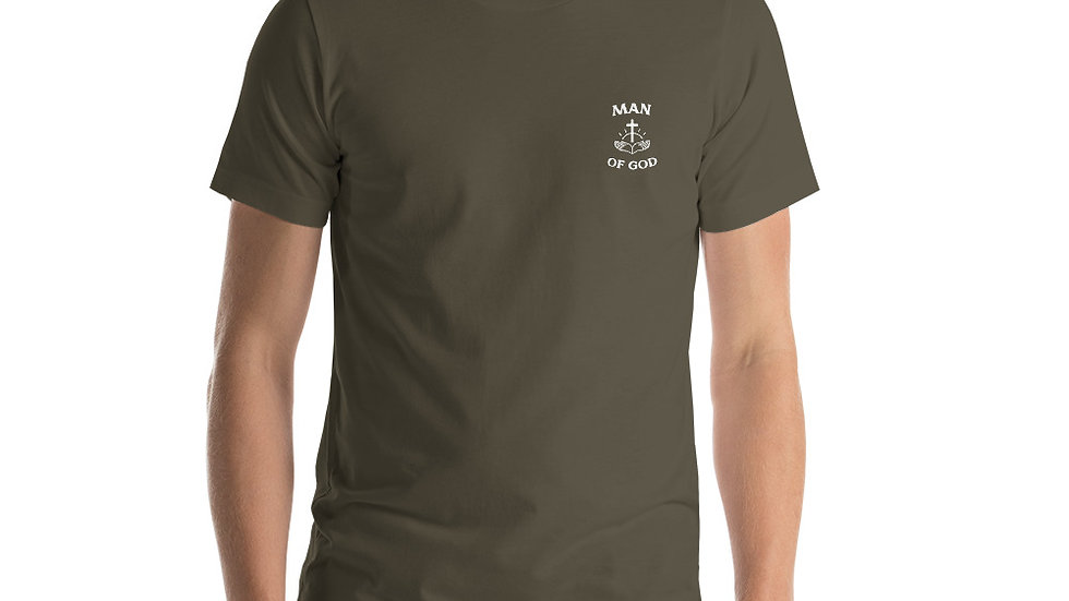 Man Of God Premium Short-Sleeve Unisex T-Shirt
