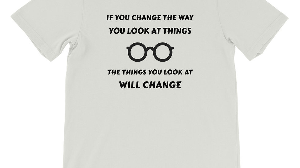If You Change Premium Short-Sleeve Unisex T-Shirt