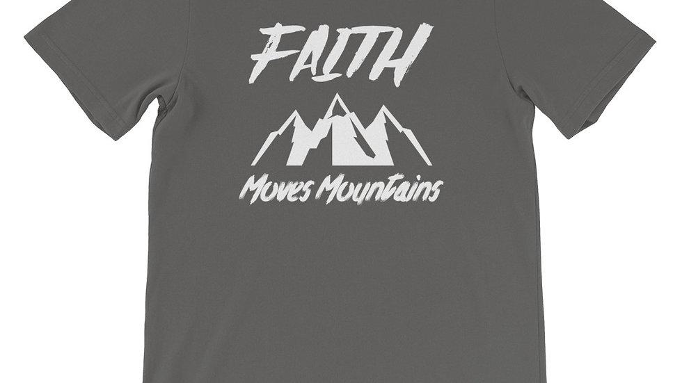 Faith Moves Mountains2 Premium Short-Sleeve Unisex T-Shirt