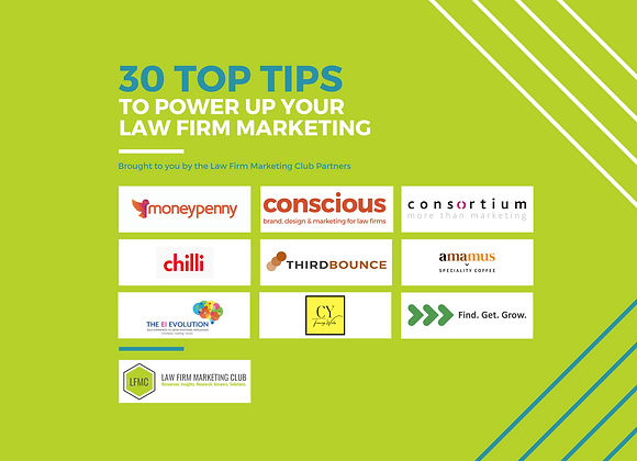 Law Firm Marketing Club Top Tips