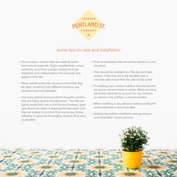 pendland-care-sheet