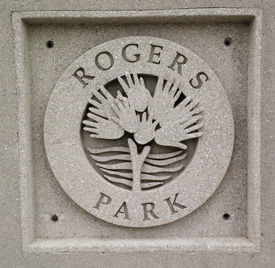 Rogers Park Sign
