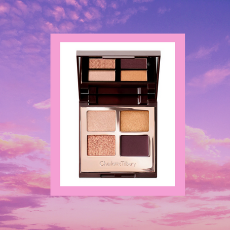 The Queen of Glow Gaze with Charlotte's Copper Eyeshadow Palette | Beauty and Skincare Network