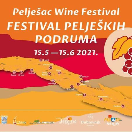 A month long Pelješac Cellars Festival