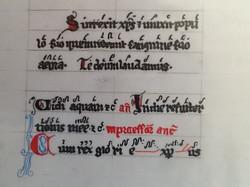 Page 15 Verso. Beromunster, Stiftskirche St. Michael, Canatatorium. 1