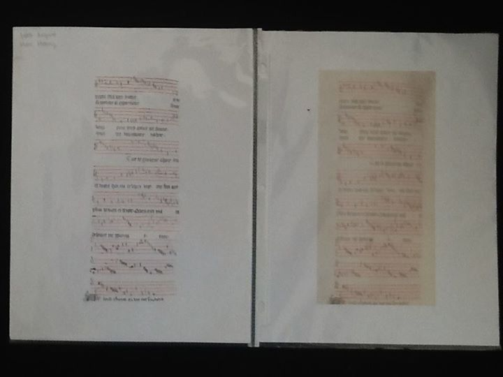 Page 42 Verso of Codex 218 (Bern, Burgerbibliothek) Guillaume de Mach