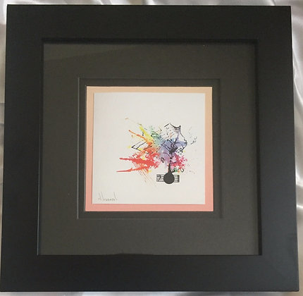 "For Small Tom Prelude Signed Giclée 10""x10"""