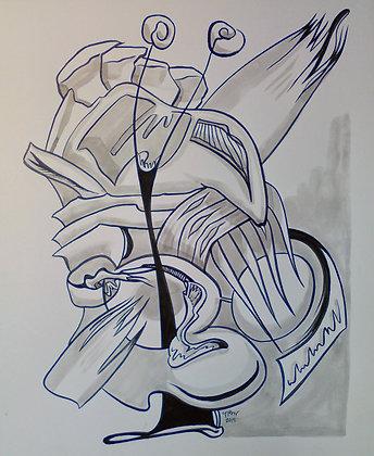 """Snail Sculpture 16""""x19"""""""