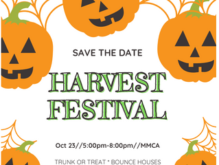 Lifetouch Correction, Save the Date for Harvest Festival