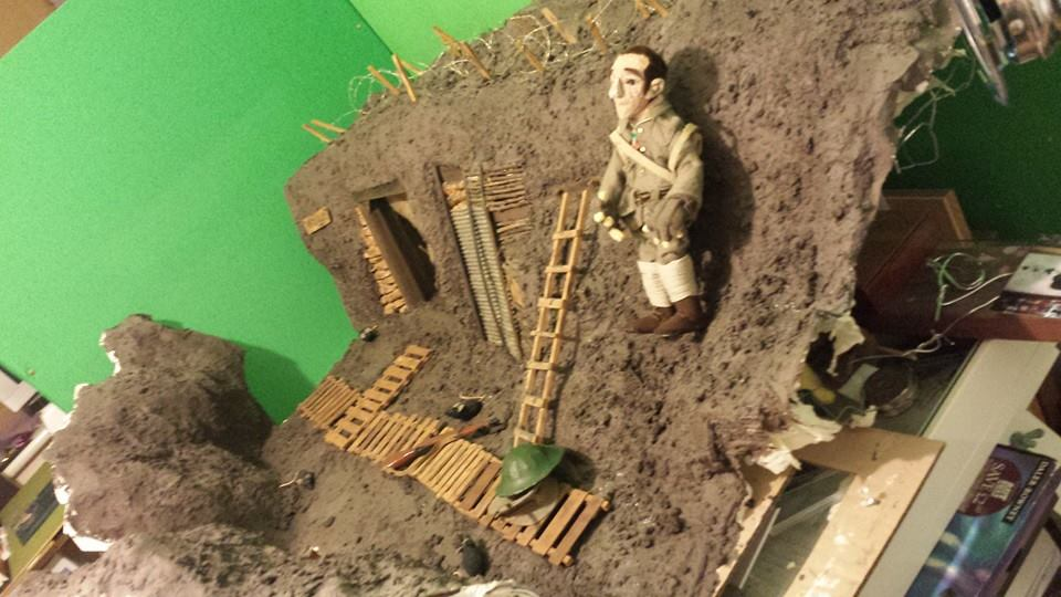 Prepping in the trench