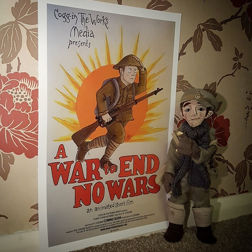 A War to End No Wars - FILM POSTER