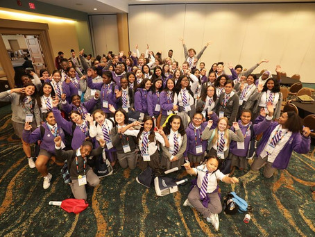 SAMPE Foundation Hosts 100 students at SAMPE 2018