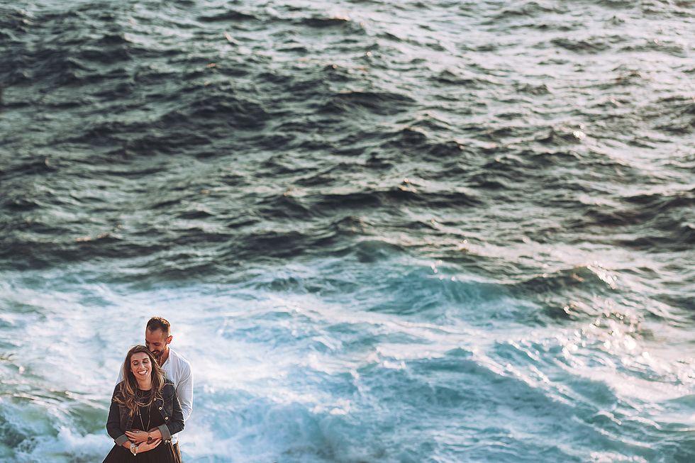 Prematrimoniale spiaggia la pelosa Stint