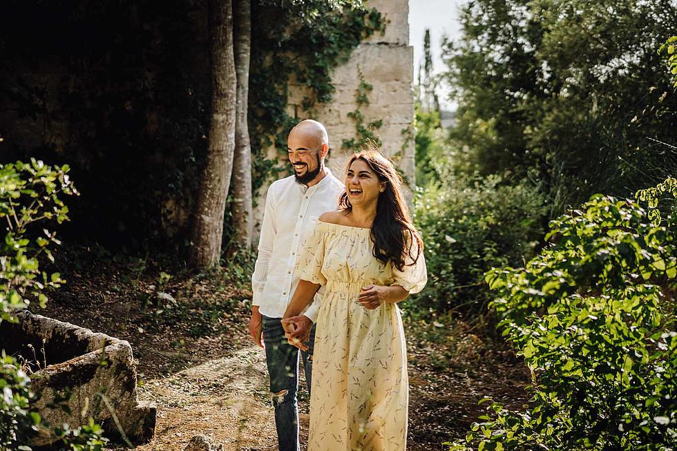 Foto di coppia in Sardegna _ Prematrimoniale romantico nel verde_10.jpg