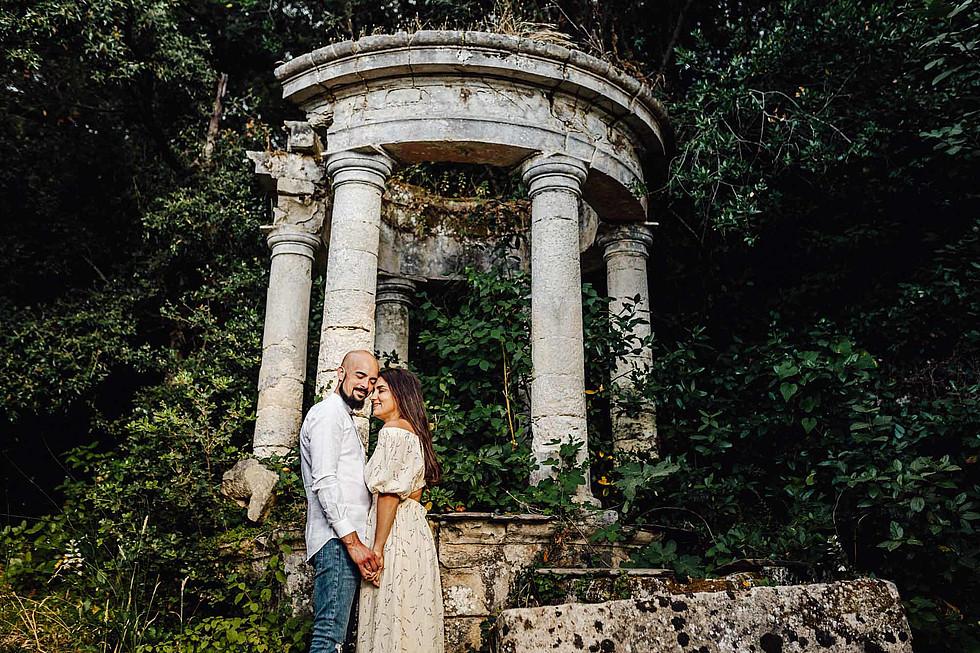 Foto di coppia in Sardegna _ Prematrimoniale romantico nel verde_21.jpg
