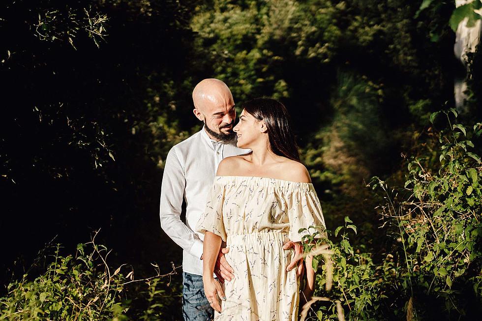 Foto di coppia in Sardegna _ Prematrimoniale romantico nel verde_35.jpg