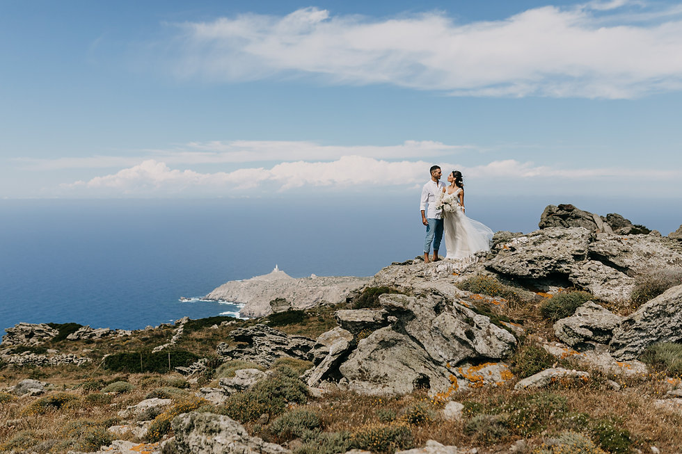 Shooting Destination Wedding Asinara