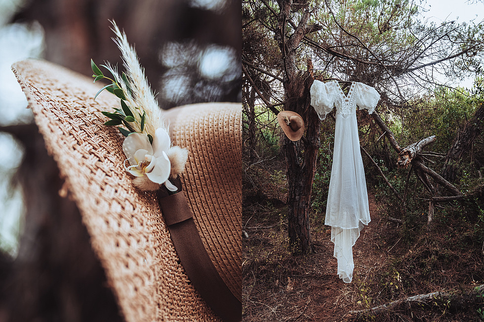 wedding drress boho chic