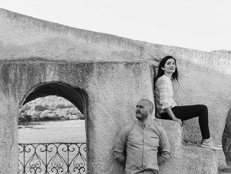 Proposta di matrimonio in Sardegna.  Torre del Lazzaretto, Alghero