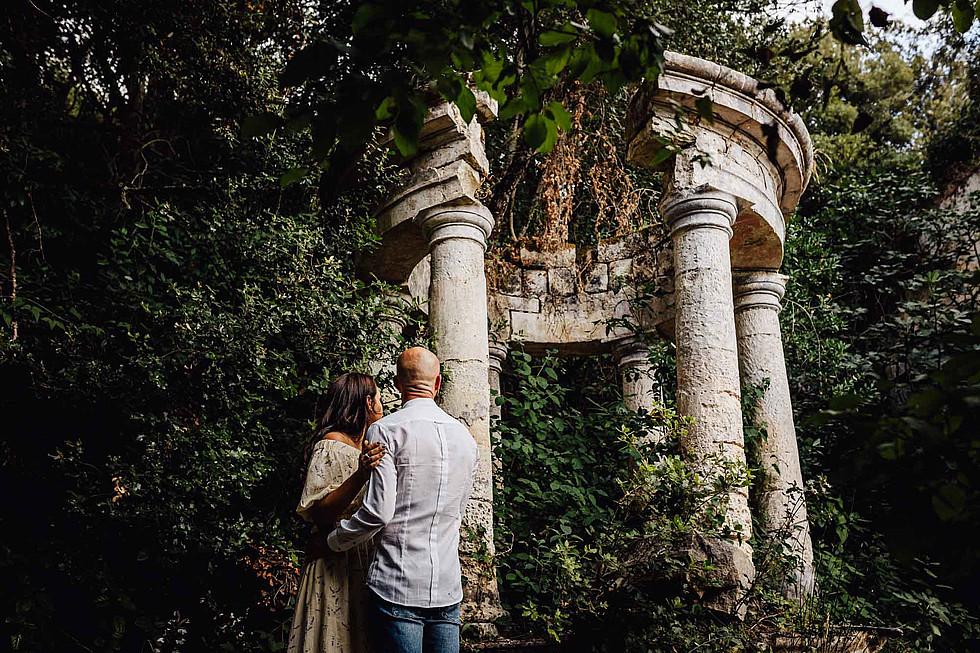 Foto di coppia in Sardegna _ Prematrimoniale romantico nel verde_12.jpg