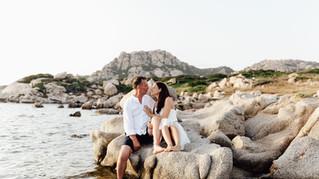 Elopement in La Maddalena | Intimate beach wedding in Sardinia