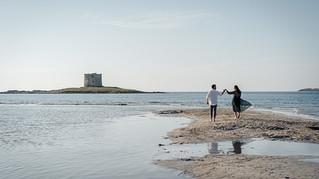 Weddings and Engagement in Sardinia, in Stintino on La Pelosa beach