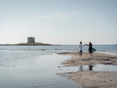 Matrimoni e Prematrimoniali in Sardegna, a Stintino nella spiaggia La Pelosa