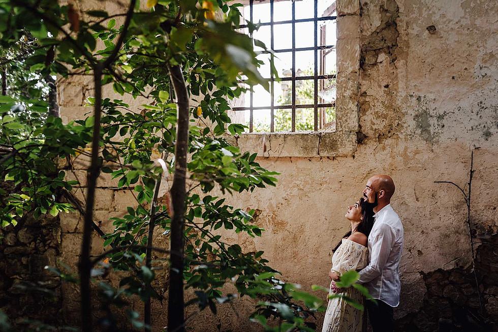 Foto di coppia in Sardegna _ Prematrimoniale romantico nel verde_29.jpg