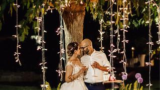 Matrimonio serale all'aperto   Villa Loreto Alghero
