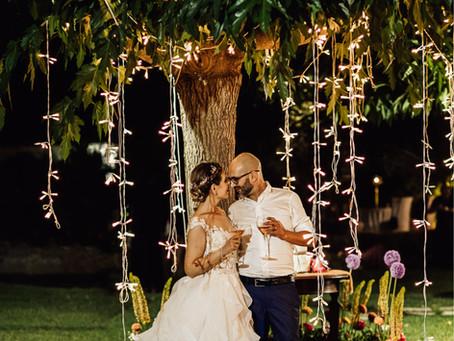 Matrimonio serale all'aperto | Villa Loreto Alghero