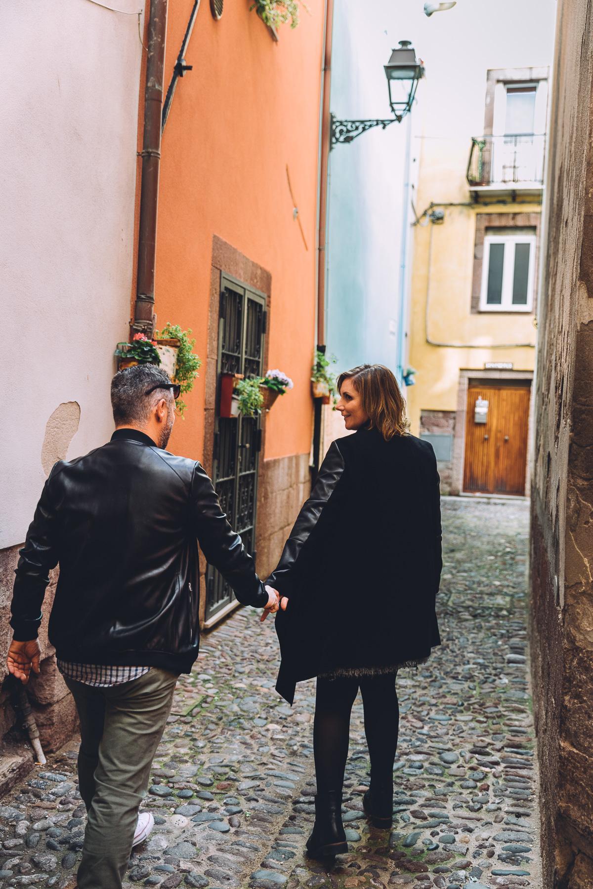 Engagement session Bosa - Sardinia
