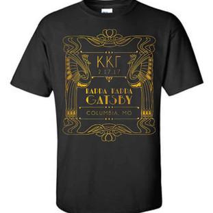 Gatsby T-shirt Design