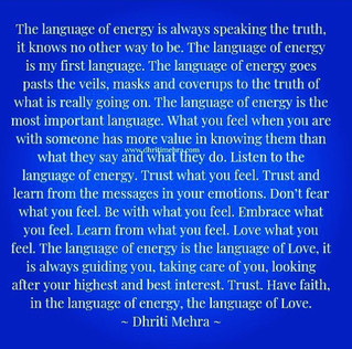 The Language of Energy.