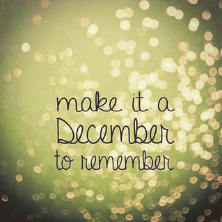 A December to remember...