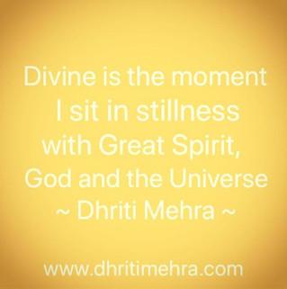 Divine Moment