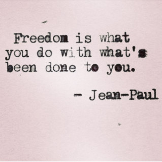 Freedom to be free!