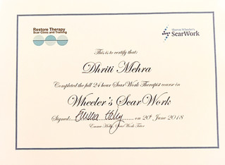 The day I became a ScarWork Therapist!