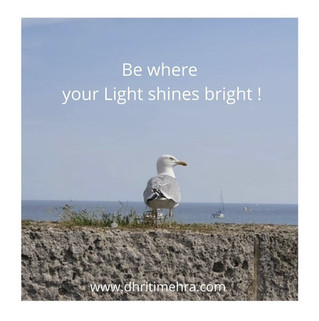 Where does your light shine bright?
