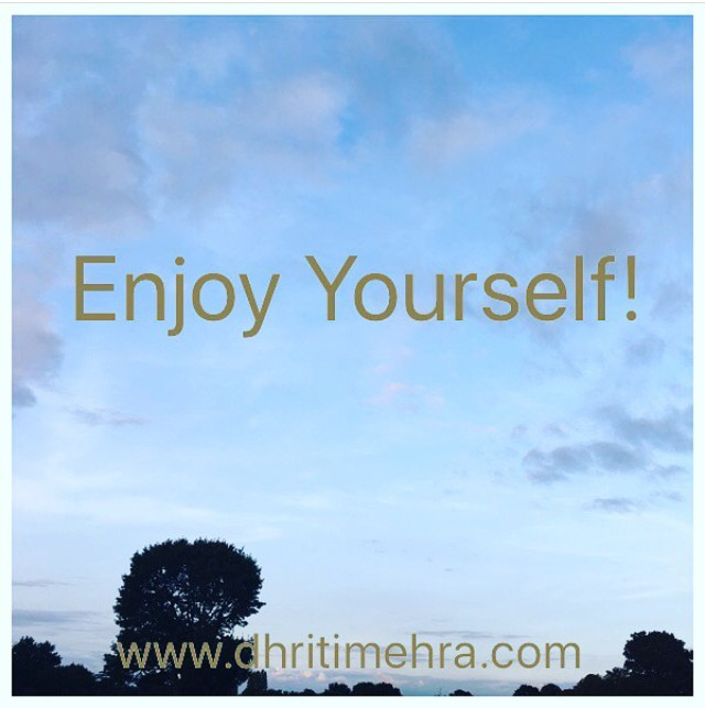 Enjoy yourself Intuitive Guide