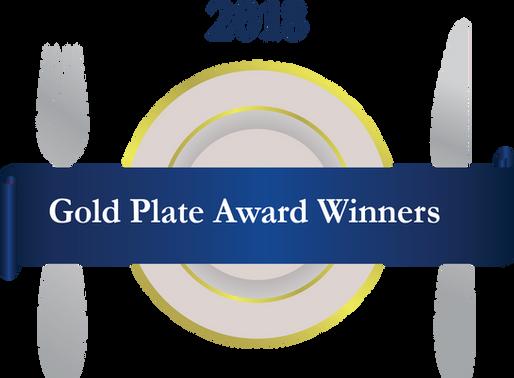 2018 Gold Plate Award Winners