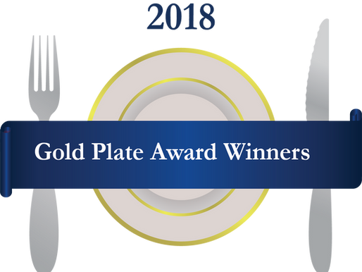 2018 Gold Plate Award Winners
