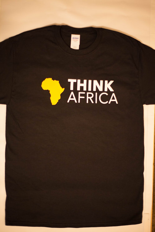ThinkAfrica T-Shirt: Black