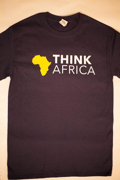 ThinkAfrica T-Shirt: Blue