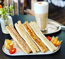 Sandwiches Frühstück