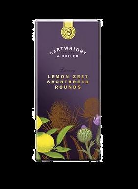Lemon Zest Shortbread Rounds