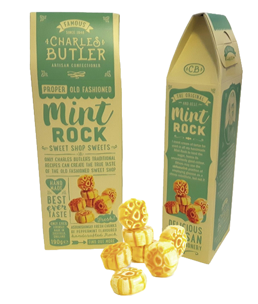 Mint Rock Old Fashioned BonBons