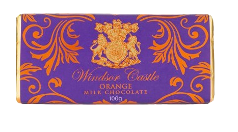 Windsor Castle Orange Schokolade