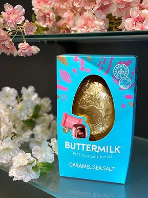 Buttermilk Sea Salt Schokoladen Easter Egg