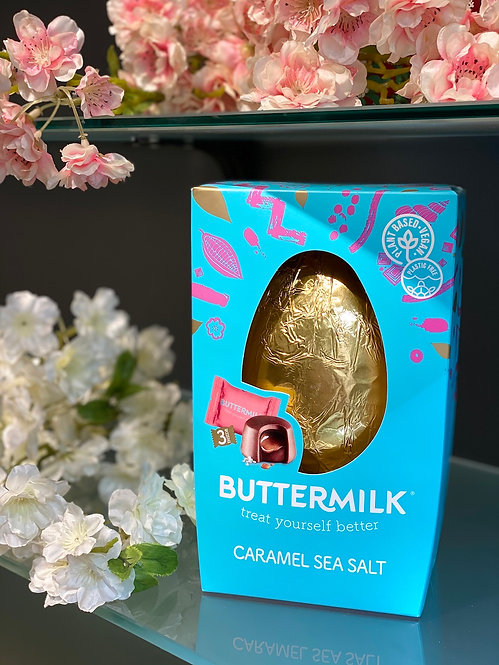Buttermilk Sea Salt Schokoladen Easter Egg