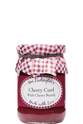 Cherry Curd with Cherry Brandy 200g